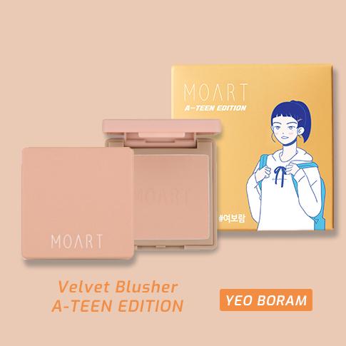 Moart Velvet Blusher F3 Full Of Ginger (A-TEEN EDITION_Yeo Bo Ram)