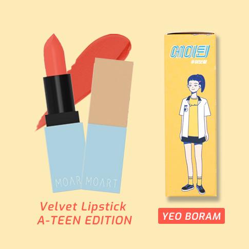 Moart Velvet Lipstick T3 Ready To Play (A-TEEN EDITION)