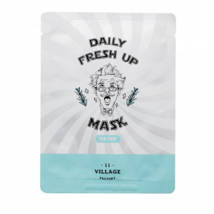 Village 11 Factory Daily Fresh Up Mask (Tea Tree)