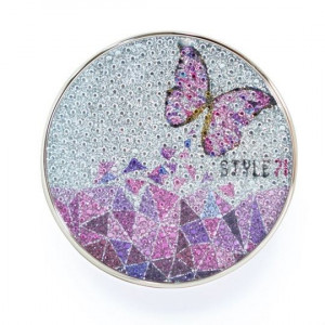 STYLE 71 Foundation Compact AS-14 Butterfly Pink