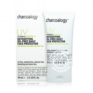Charcoalogy UV Defense Detoxifing Oil-Free Daily Face Protector SPF50 PA+++
