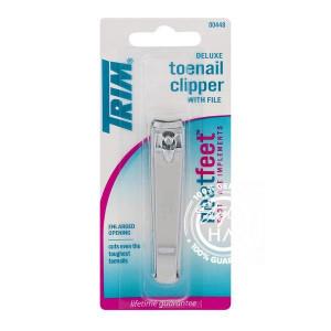 Trim Toenail Clip W-File