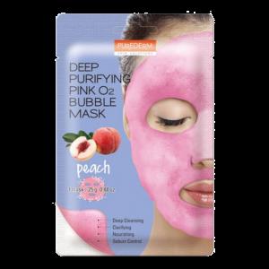 Purederm O2 Bubble Peach