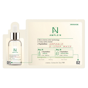 AMPLE:N Peptide Shot Ampoule 2 Step Mask