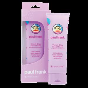 Paul Frank Violet Clay Facial Foam