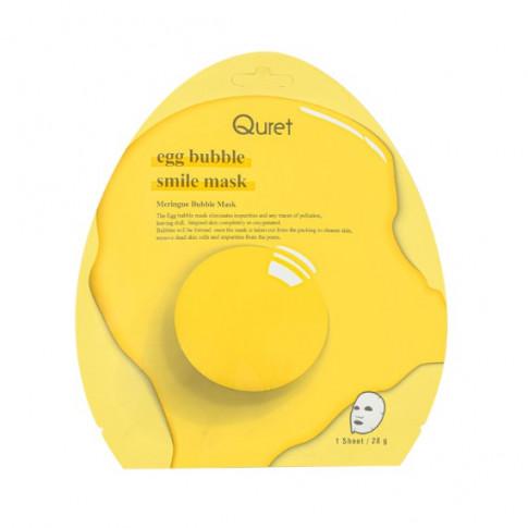 Quret Egg Bubble Smile Mask