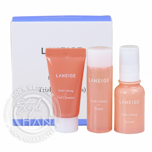 Laneige Fresh Calming Trial Kit (3 Items)