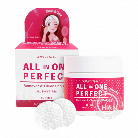 @TREND BEAU All In One Perfect Remover & Cleansing Pad