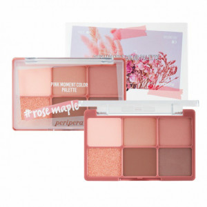 Peripera Pink Moment Color Palette