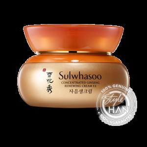 (หมดอายุ 12/2021) Sulwhasoo Concentrated Ginseng Renewing Cream Ex 60ml