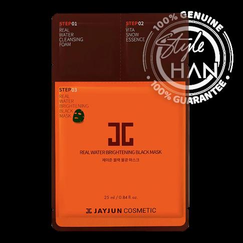 Jayjun Real Water Brightening Black Mask (Sheet)