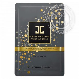 Jayjun Gold Snow Black Mask