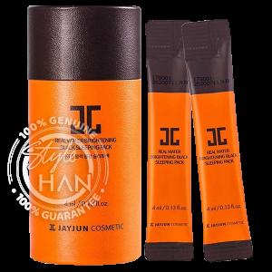 Jayjun Real Water Brightening Black Sleeping Pack