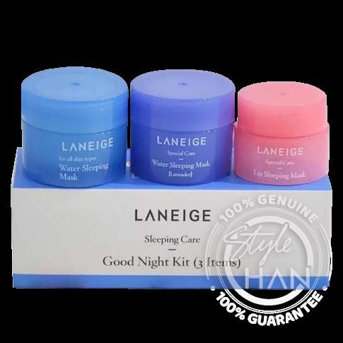 Laneige Sleeping Care Good Night Kit (3 Items)