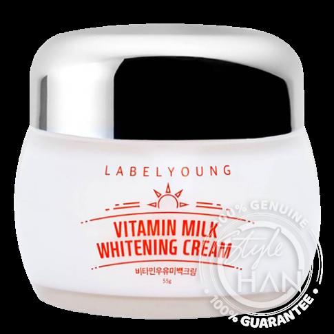 Labelyoung Shocking Vitamin Milk Whitening Cream