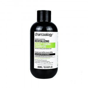 Charcoalogy Revitalizing Scalp Toning Shampoo  (สูตรใหม่)