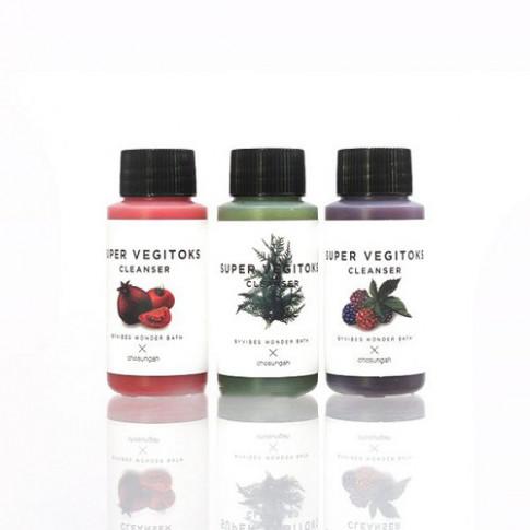 Byvibes Wonder Bath Super Vegitoks Cleanser Miniature Kit