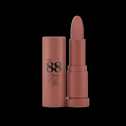 Ver.88 Holiday Matte Lipstick#Honey Brown No.9