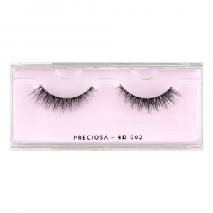 PRECIOSA eyelashes nature clear 4d 002 ps520