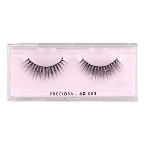 PRECIOSA eyelashes nature clear 4d 003 ps520