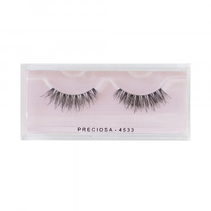 PRECIOSA eyelashes nature clear 4533 ps520