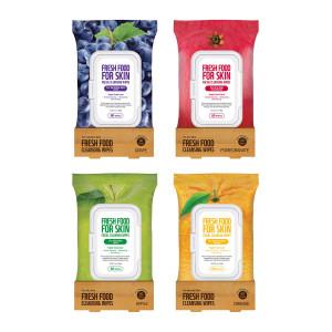 Farm Skin Fresh Food For Skin Cleansing Wipes