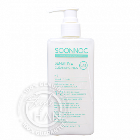 Soonnoc Sensitive Cleansing Milk