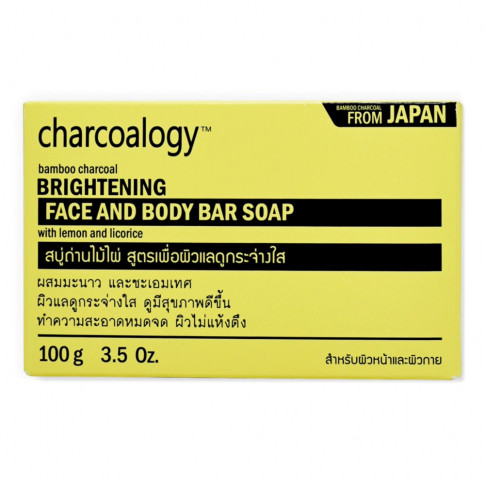 Charcoalogy Face and Body Bar Soap
