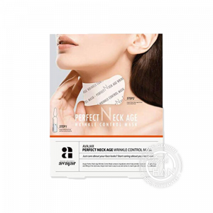 Avajar Perfect Neck Age Wrinkle Control Mask