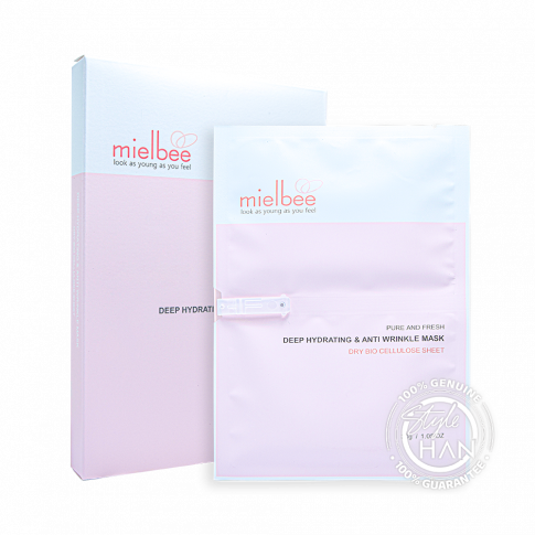 Mielbee Deep Hydrating & Anti Wrinkle Mask (Box)