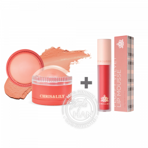 Chris & Lily Set (Blusher + Lip Mousse)