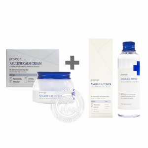 Preange Azulene Calm Cream + Toner SET