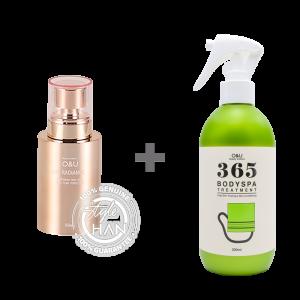 O&U Lux Radiance 50 ml + O&U 365 Bodyspa Treatement Set