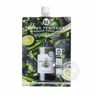 Wonder Bath Super Vegitoks Cleanser Green (Kit)