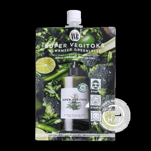 Wonder Bath Super Vegitoks Cleanser Green (Kit)