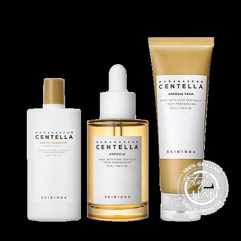 Skin1004 Healthy&Protect Skin Set (Foam+Ampoule+Suncream)