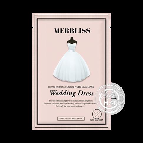 MERBLISS Wedding Dress Intense Hydration Coating Nude Seal Mask