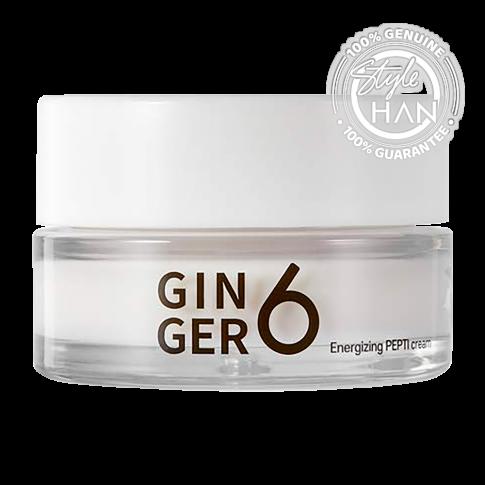 Ginger6 Energizing Pepti Cream