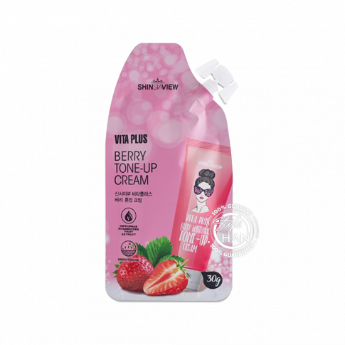 Shinsiaview Vita Plus Berry Tone-Up Cream