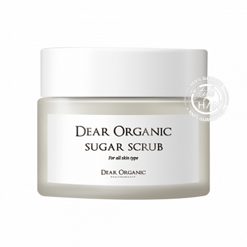 Dear Organic Sugar Scrub 50g.