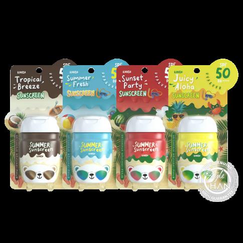 Kanda Summer Sunscreen Spf 50 Pa ++++ 30 G