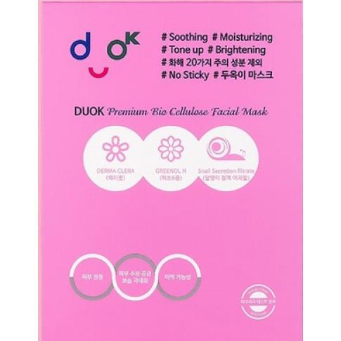 DUOK Duok Premium Bio Cellulose Facial Mask (Pouch)