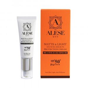 ALESE MATTE & LIGHT SUNSCREEN PROTECTION CREAM SPF 50 PA++++