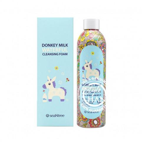 Seantree Donkey Milk Waterful Cleansing Foam