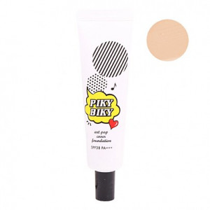 Tonymoly Pikybiky Art Pop Cover Foundation #01 Vanila Chou
