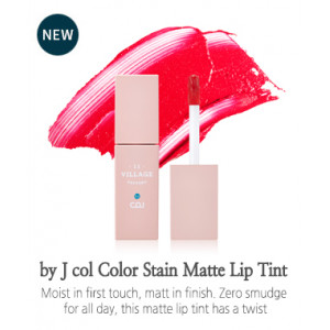 Village 11 Factory by J Col Color Stain Matte Lip Tint