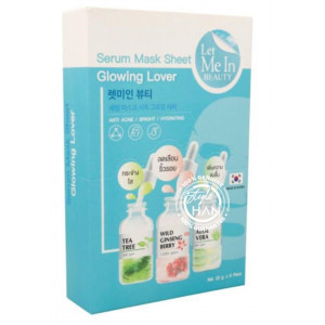 Let Me In Beauty Serum Mask Sheet Glowing Lover