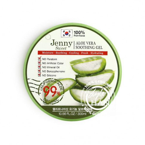 Jenny Sweet Aloe Vera 99% Shooting Gel